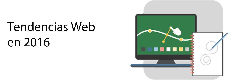 tendencias web 2016