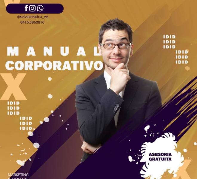 diseño y creación de manual corporativo